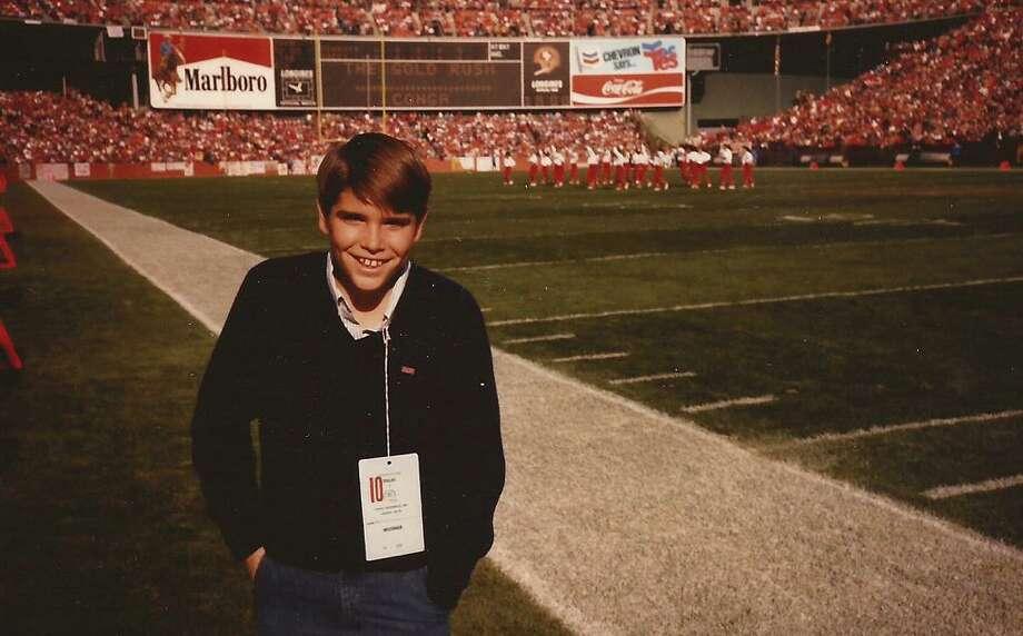 Luckiest kid ever. Photo: Skeeter Hagler, Courtesy Adam Flowers