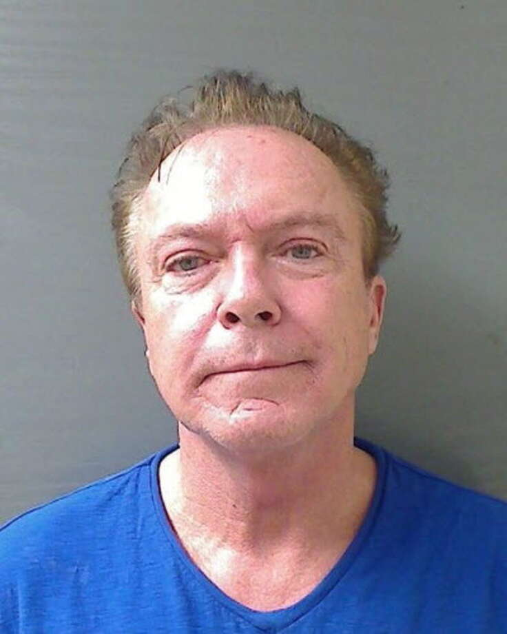 The mugshot from David Cassidy's arrest in Schodack on Aug. 21, 2013. (Schodack Police Department)