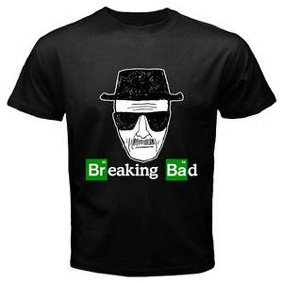 This Walter White T-shirt is perfect for the Breaking Bad fanatic. The Breaking Bad Store feature several other designs, also for $20.99. Photo: Breakingbadstore.com
