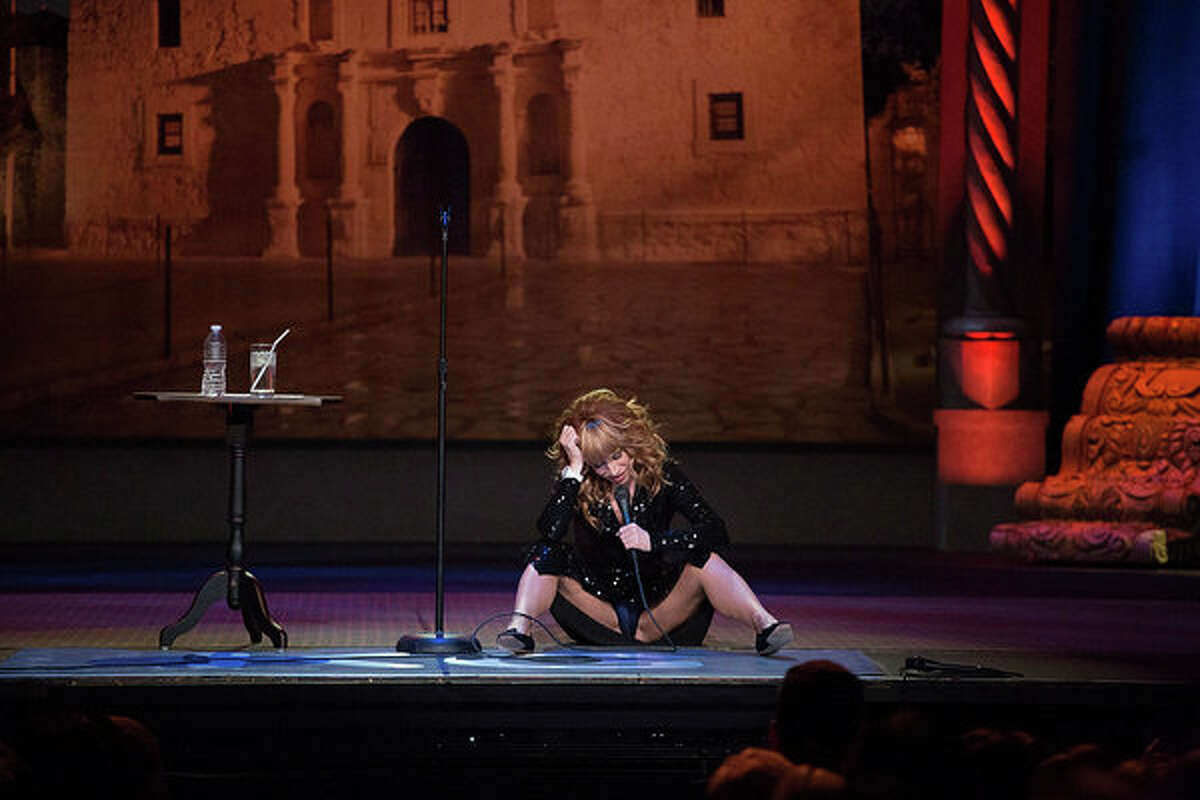 Kathy Griffin TV special from S.A. featured the comedian's panties...prominently!