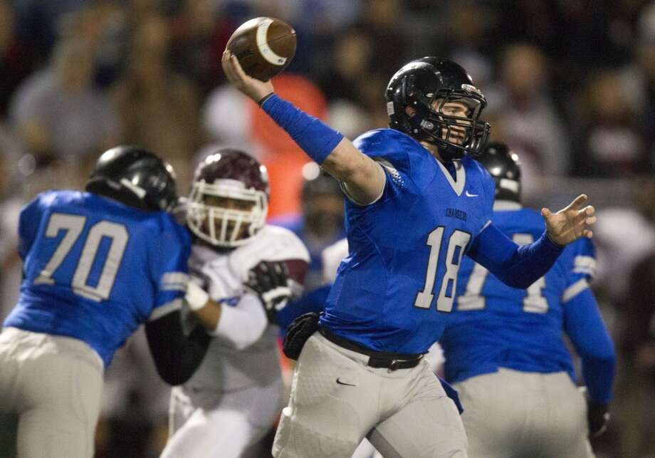 QB Zach Cripps   Height/weight: 6-3, 180   High school: Clear Springs  College: Texas A&M-Commerce Photo: J. Patric Schneider, For The Chronicle
