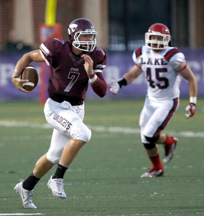 QB Jarrett Hildreth   Height/weight: 6-5, 208   High school: Clear Creek   College: Blinn Photo: Thomas B. Shea, For The Chronicle