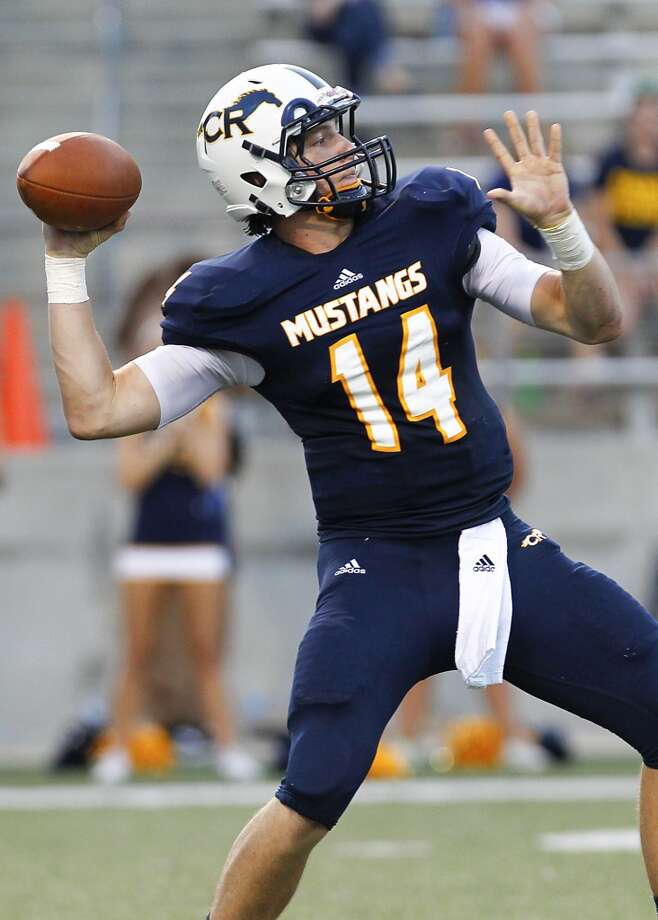 QB Cole Martin   Height/weight: 6-2, 189   High school: Cypress Ranch   College: Sam Houston Photo: Diana L. Porter, For The Chronicle