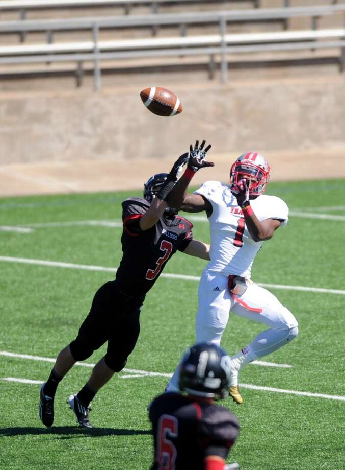 DB Nick Harvey   Height/weight: 5-11, 180  High school: Travis  College: Texas A&M Photo: Eddy Matchette, For The Chronicle