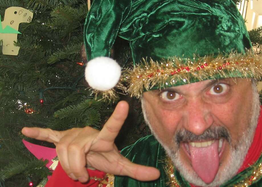 """David Sinaiko says he doesn't identify with author David Sedaris but does identify with the situation Sedaris presents in """"Santaland Diaries"""" for the Santa's helper he portrays. Photo: Lux Obscura"""