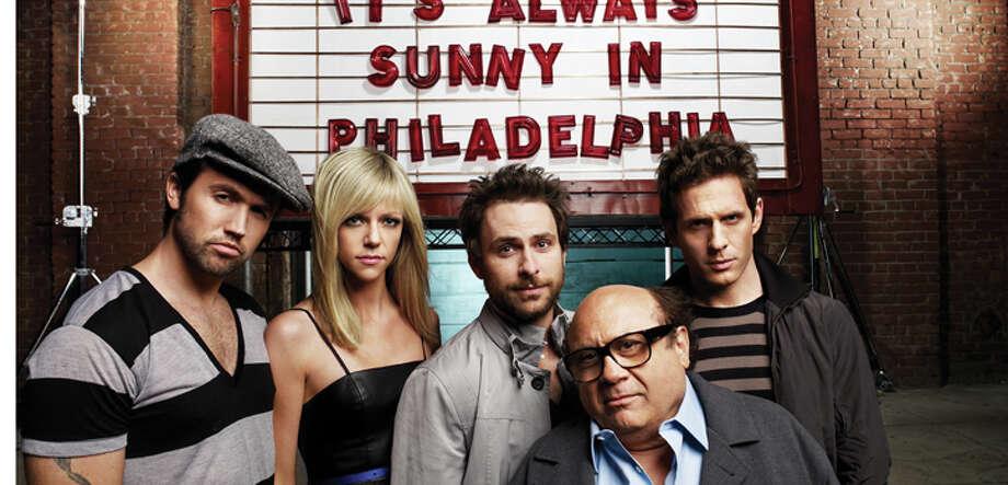 """It's Always Sunny in Philadelphia"" reruns, 2 p.m. on Comedy Central."
