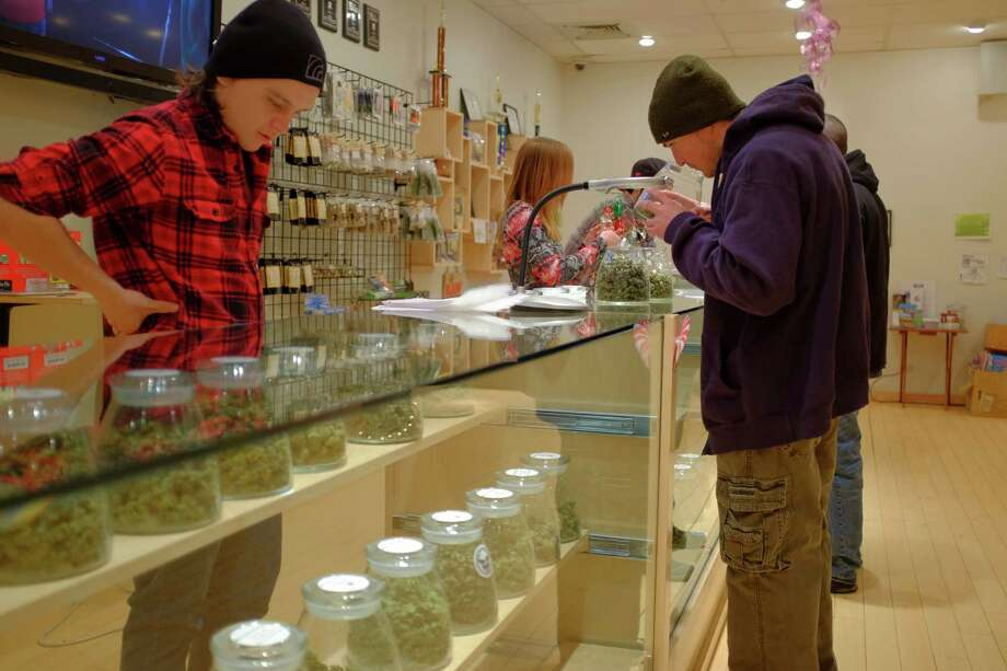 The River Rock Medical Marijuana Center. Because of the lack of scientific evidence, doctors can't recommend a  specific strain and dosage of cannabis to patients, leaving patients to choose on their own. Moreover, a recent study in the Journal of the  American Medical Association showed that out of 75 cannabis products,  only 17 percent were accurately labeled.  Photo: MATTHEW STAVER, New York Times / NYTNS