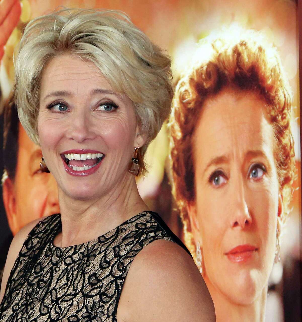 """""""We all have father issues in one way or another,"""" says Emma Thompson, who portrays P.L. Travers in """"Saving Mr. Banks."""""""