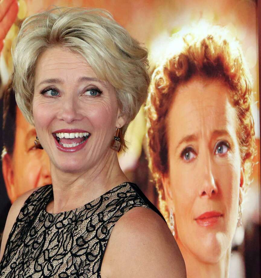 """We all have father issues in one way or another,"" says Emma Thompson, who portrays P.L. Travers in ""Saving Mr. Banks."" Photo: Frederick M. Brown, Stringer / 2013 Getty Images"
