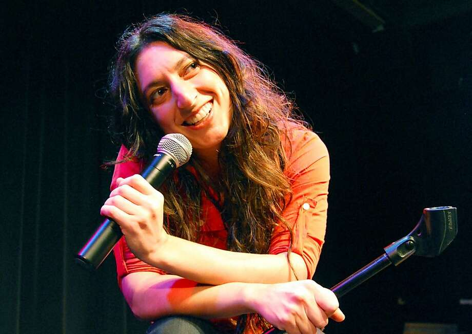 """Alicia Dattner, a former standup comedian, has transitioned to solo performances such as her current endeavor, """"The Oy of Sex."""" Photo: Carla Befera"""