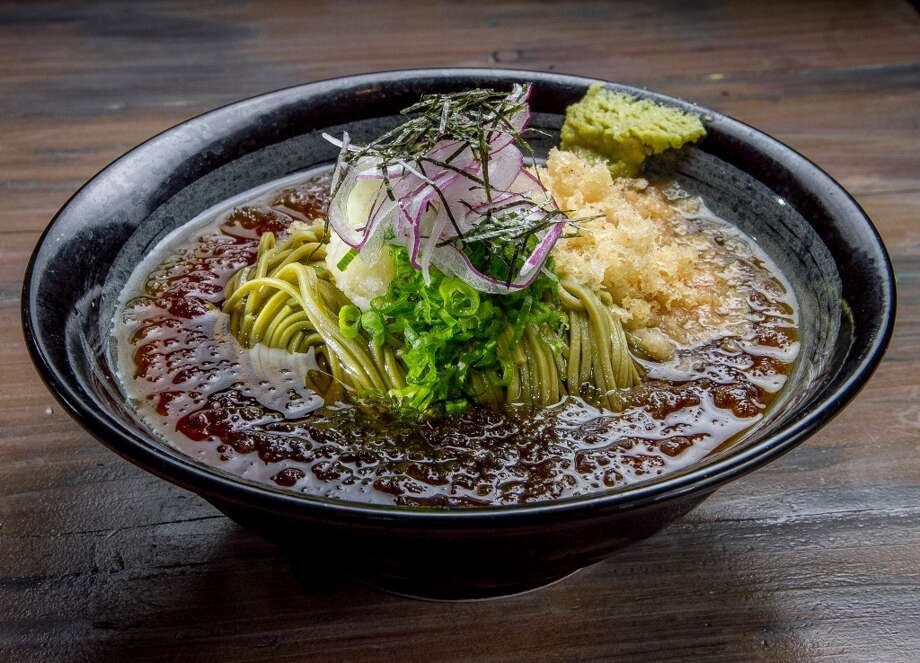 Cha Soba at Izakaya Hashibiro Kou in San Francsico. Photo: John Storey, Special To The Chronicle