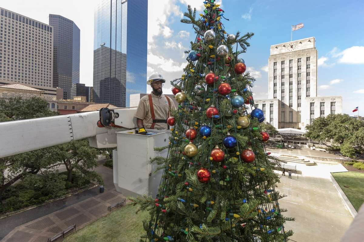 99th Annual Mayor's Holiday Celebration and Tree Lighting6-8 p.m. Nov. 30, 2018 at Hermann Square at City Hall Free and open to the public, the annual event features a visit from Santa, music, fireworks and family friendly events. >>>Keep clicking to see Houston area neighborhoods with the best Christmas lights...