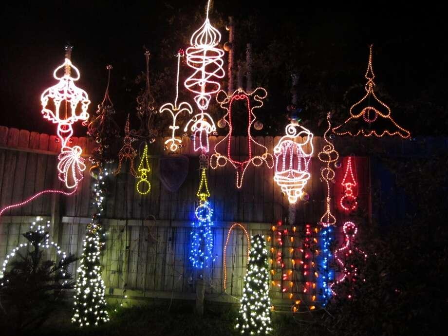 Zoo Lights at the Houston Zoo Photo: Syd Kearney, Houston Chronicle