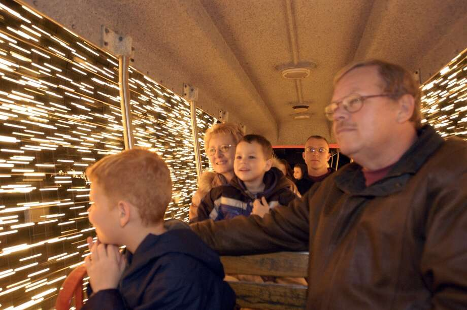 Victory Camp's Christmas Train Ride in Alvin