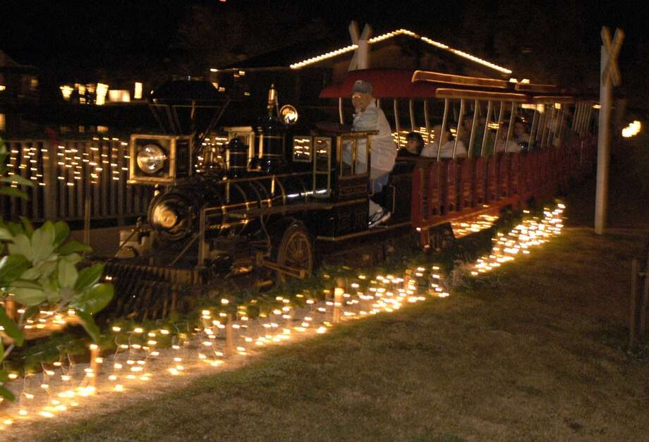 Victory Camp's Christmas Train in Alvin Photo: Kim Christensen, For The Chronicle