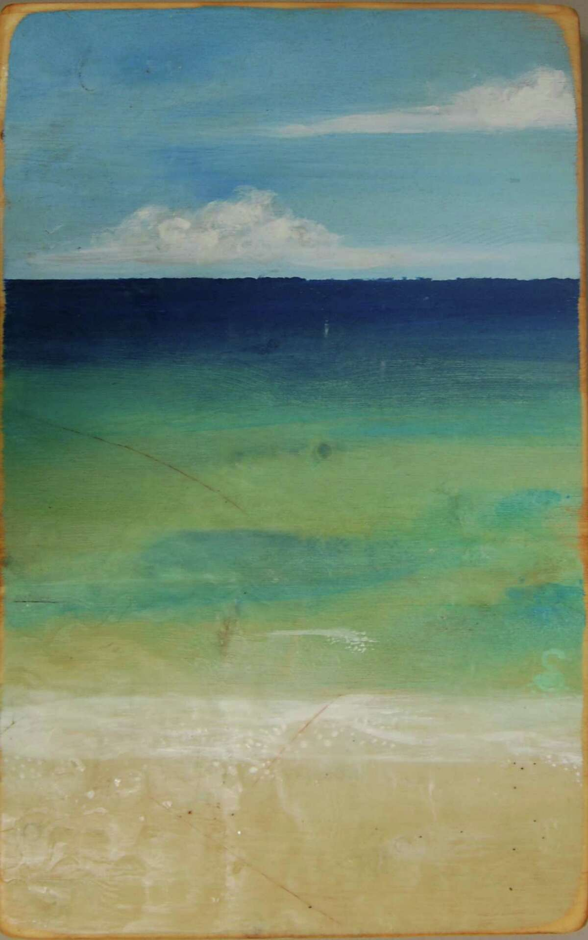 """""""Pensacola Beach"""" by Stacy Gresell will be on display at Lone Star College Cy-Fair starting Jan. 21."""