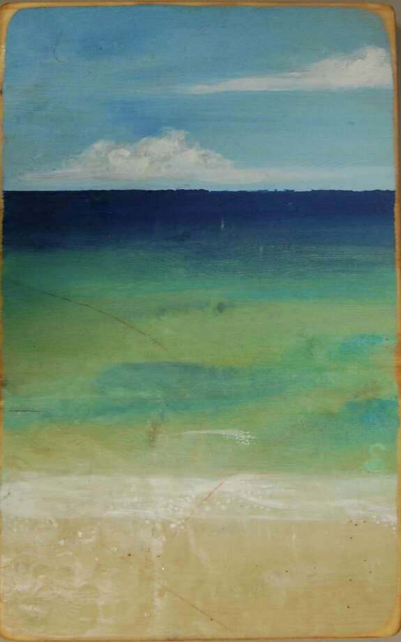 """""""Pensacola Beach"""" by Stacy Gresell will be on display at Lone Star College Cy-Fair starting Jan. 21. Photo: Provided By Lone Star College Cy-Fair"""