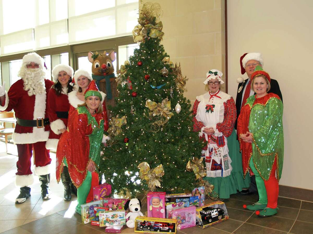 More than 200 toys were collected by volunteers at St. Luke's Hospital at The Vintage