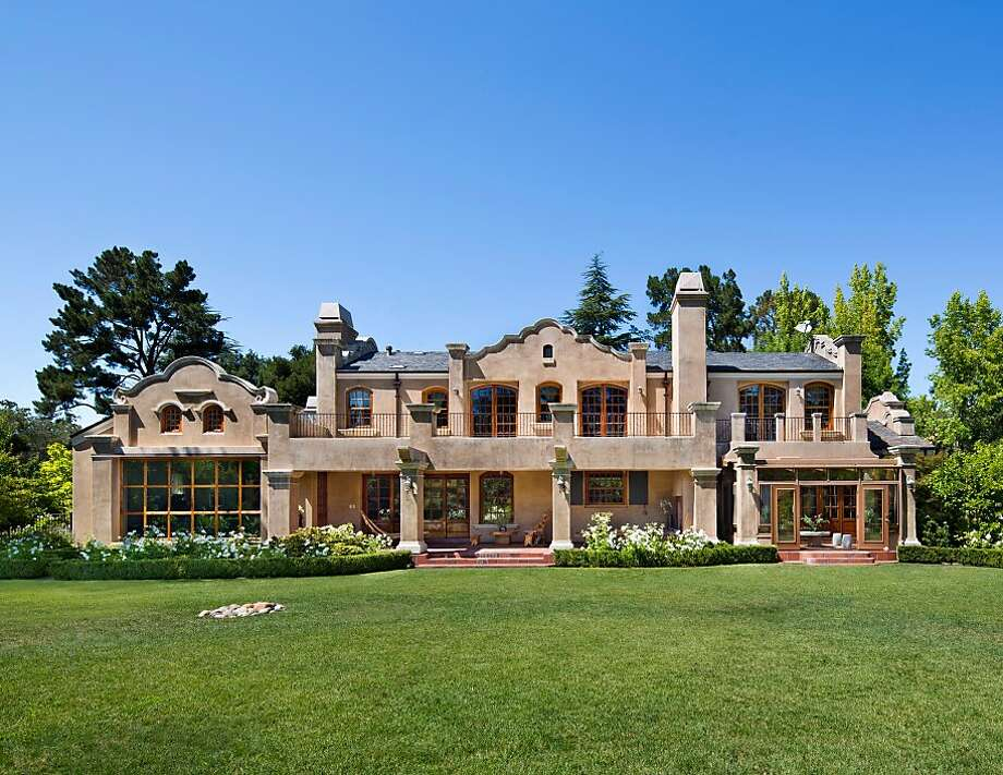 This five-bedroom Atherton home at 91 Fleur Place is available for $9.98 million. Photo: Bernard Andre' Photgraphy