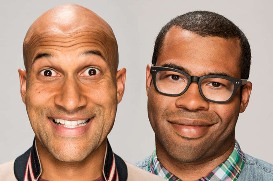 """Keegan-Michael Key and Jordan Peele, comedians and hosts of """"Key & Peele""""Writer/director Judd Apatow says of the comedy duo, """"I don't laugh out loud much anymore. I have seen way too much comedy, and one might say I am dead inside. But Key and Peele make me laugh — hard. They are smart, satirical, ridiculous, pointless, political, subversive, immature and important all at the same time. They know what they are doing and are ready for their moment."""""""