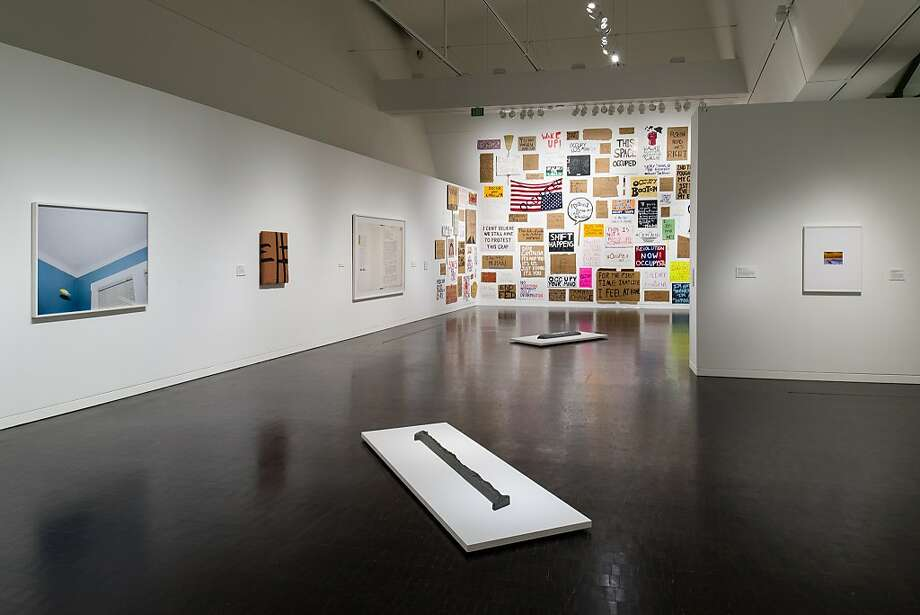 "Installation view of Jason Lazarus' show ""Live Archive"" at Contemporary Jewish Museum. Photo: Johnna Arnold"