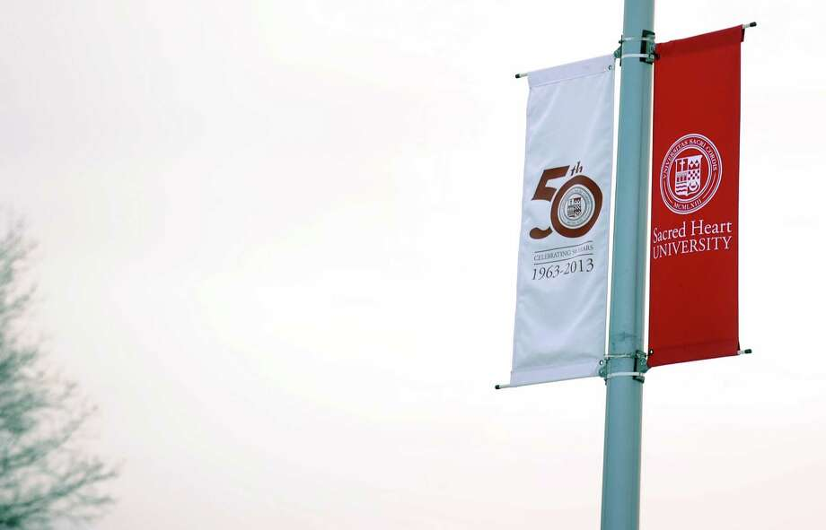 Sacred Heart University in Fairfield, Conn. is celebrating its 50th anniversary. Photo: Autumn Driscoll / Connecticut Post
