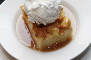 A reader raves about the sauce used on the bread pudding at River City Seafood & Grill.