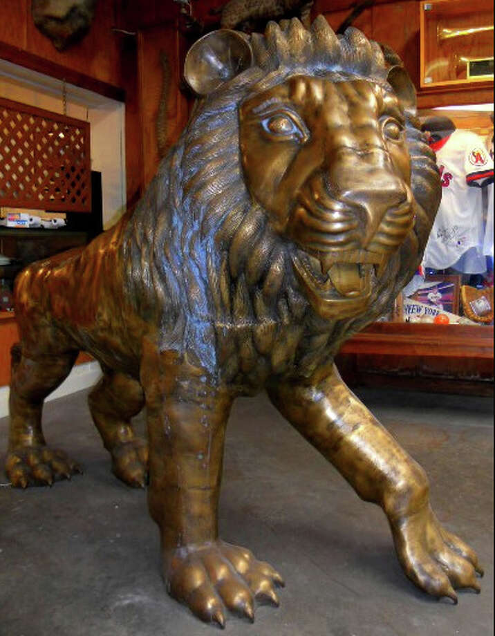 Items up for auction from the Michael Brown estate. (Webster Auction Palace photos.)