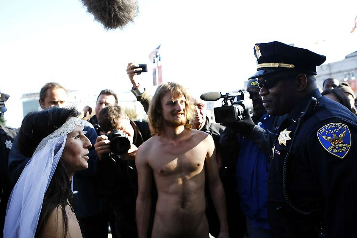 There may be more naked people than normal in SF this