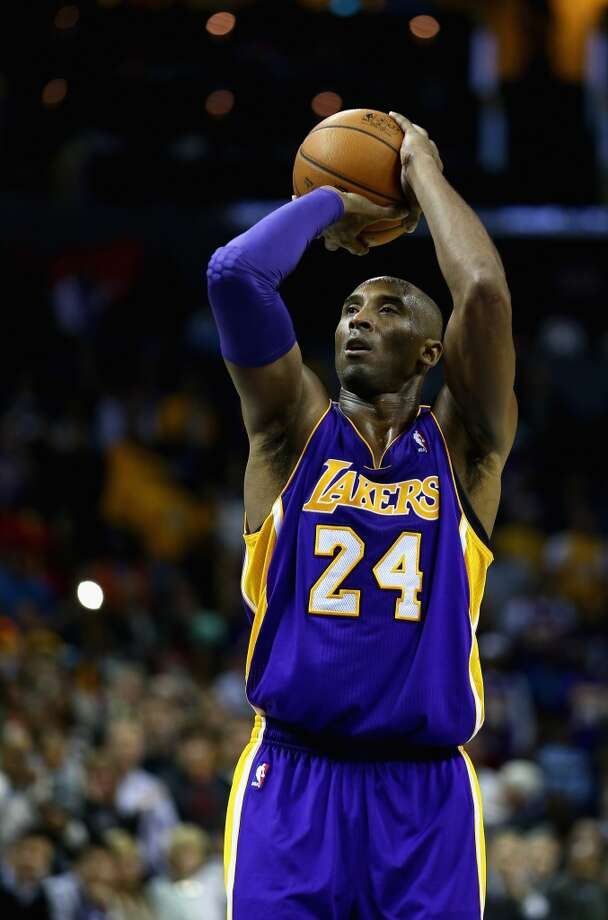 3. Kobe BryantLos Angeles Lakers guard Photo: Streeter Lecka, Getty Images