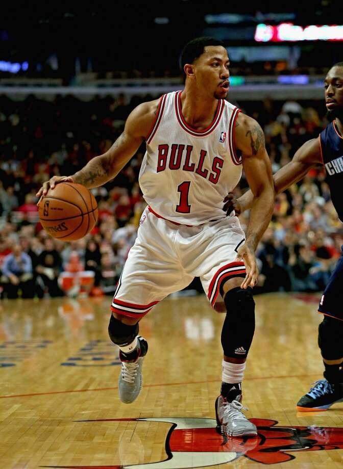 4. Derrick Rose  Chicago Bulls guard Photo: Jonathan Daniel, Getty Images