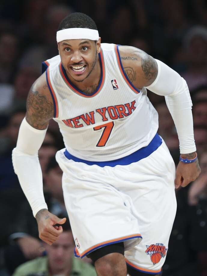 6. Carmelo AnthonyNew York Knicks forward Photo: John Minchillo, Associated Press