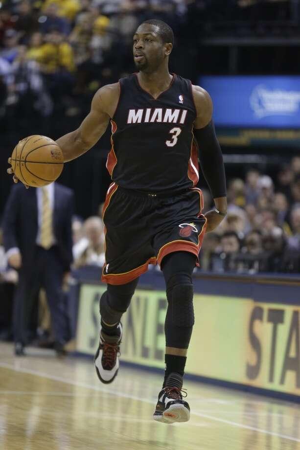 7. Dwyane WadeMiami Heat guard Photo: Michael Conroy, Associated Press