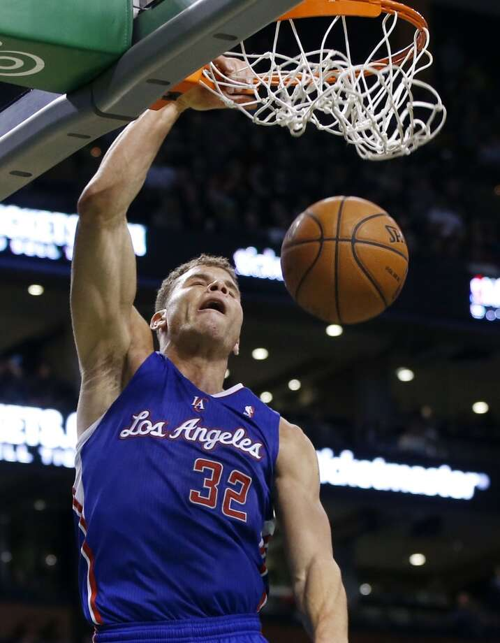 11. Blake GriffinLos Angeles Clippers forward Photo: Elise Amendola, Associated Press