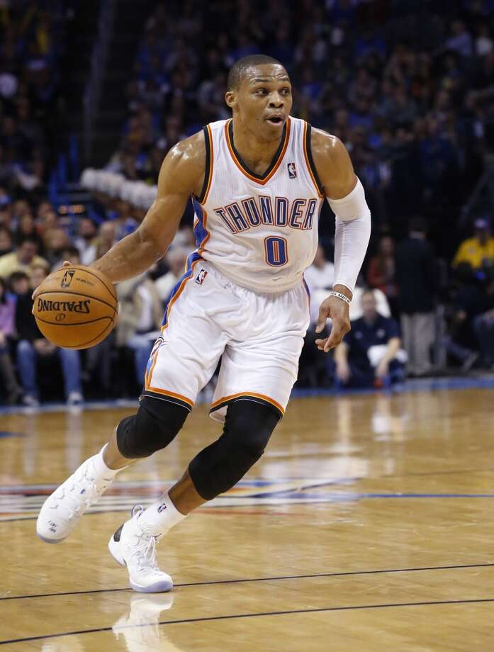 12. Russell WestbrookOklahoma City Thunder guard Photo: Sue Ogrocki, Associated Press
