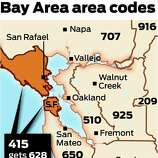 End Of Line For Nd Area Code Coming For SF Marin SFGate - Area code 925