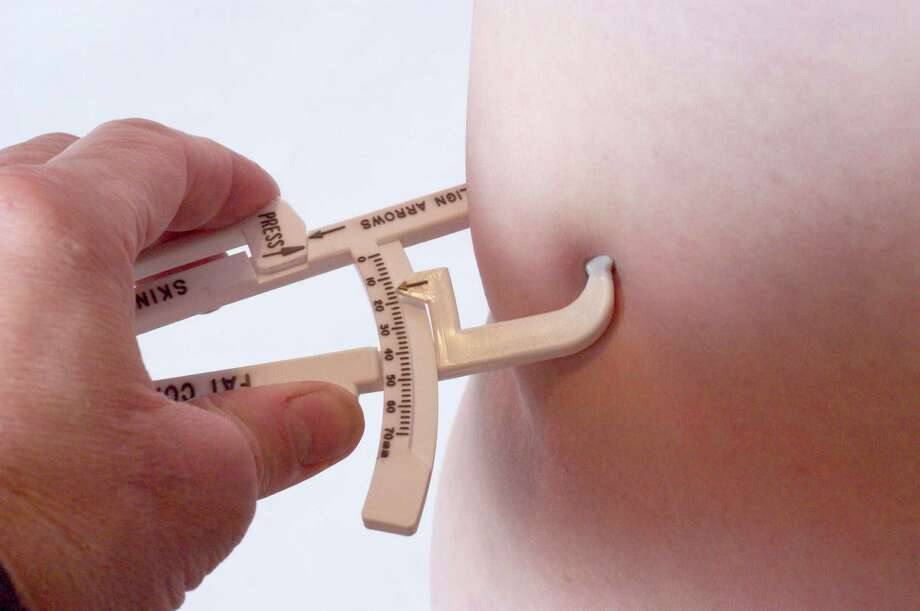 "Calipers for measuring excess those love handles. ""Honey, I'm not saying you're fat. I'm just giving you the tools you might need to reach that goal you keep talking about every morning getting dressed."" Winning? Not so sure. Photo: Kallista Images, Getty Images / Kallista Images"