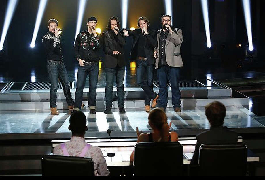 A Cappella group Home Free advanced from Thursday's 'Judges' Choice' episode to secure a spot in the finals of the NBC vocal competition, 'The Sing-Off.' The group features Nederland High School grad and native Tim Foust, center.