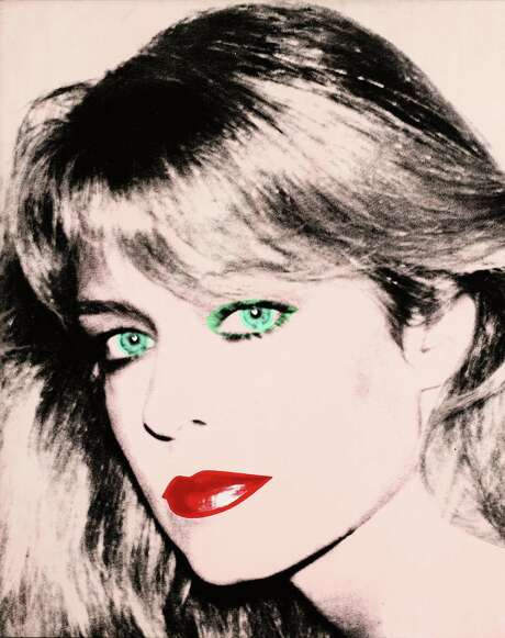 Andy Warhol's painting of Farrah Fawcett was at the center of a dispute between UT-Austin and actor Ryan O'Neal. Photo: Associated Press / Blanton Museum of Art