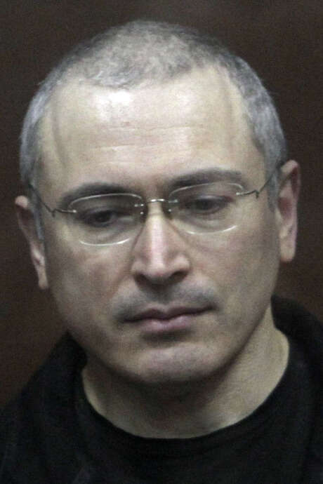 Former oil tycoon Mikhail Khodorkovsky may be pardoned after a decade in prison. / AP