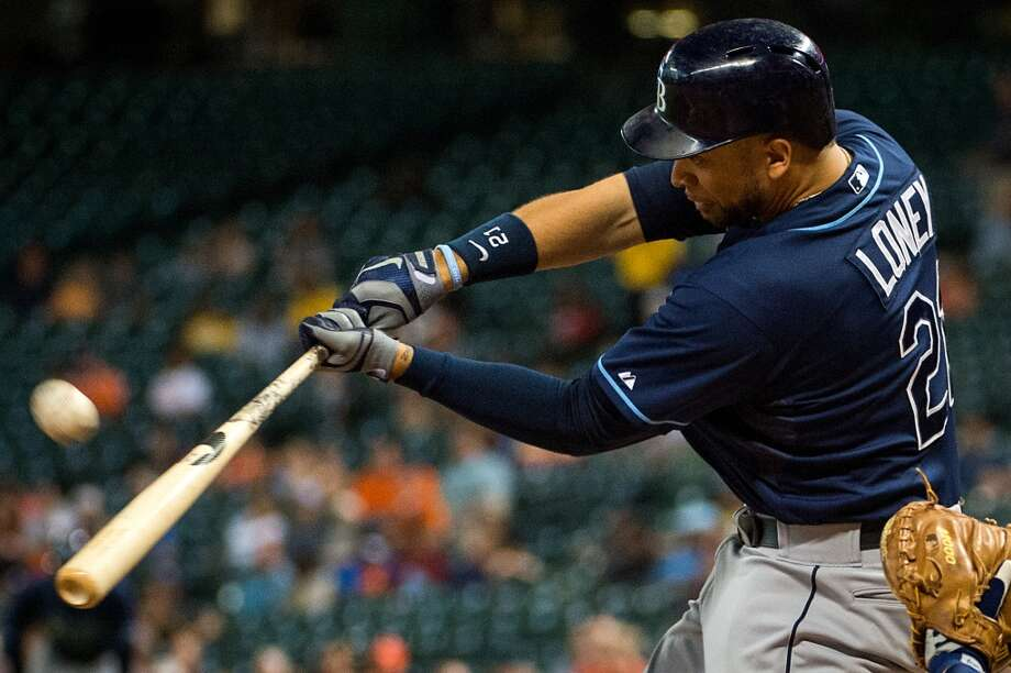 James Loney  First baseman 2013 stats: .299 batting average, 13 HRs, 75 RBI Re-signed by Tampa Bay Rays Photo: Smiley N. Pool, Houston Chronicle