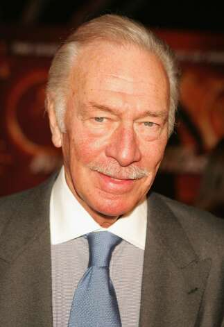 """PASADENA, CA - NOVEMBER 8:  Actor Christopher Plummer arrives at the Disney Premiere Of """"National Treasure"""" on November 8, 2004 at the Pasadena Civic Auditorium, in Pasadena, California. (Photo by Kevin Winter/Getty Images) Photo: Kevin Winter, Getty Images / 2004 Getty Images"""