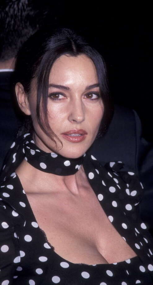 """Monica Bellucci attends the world premiere of """"Hart's War"""" at Mann National Theater in 2002. Photo: Ron Galella, WireImage / 2002 Ron Galella, Ltd."""
