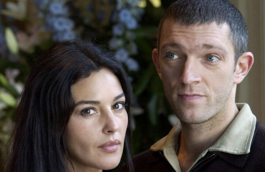 Monica Bellucci & Vincent Cassel at Hotel Inter-Continental in Toronto in 2001. Photo: J. Vespa, WireImage / 2001 Jeff Vespa/WireImage.com