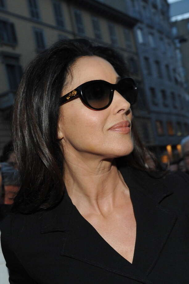 Monica Bellucci is seen in Milan, Italy in 2013. Photo: Jacopo Raule, Getty Images / 2013 Jacopo Raule