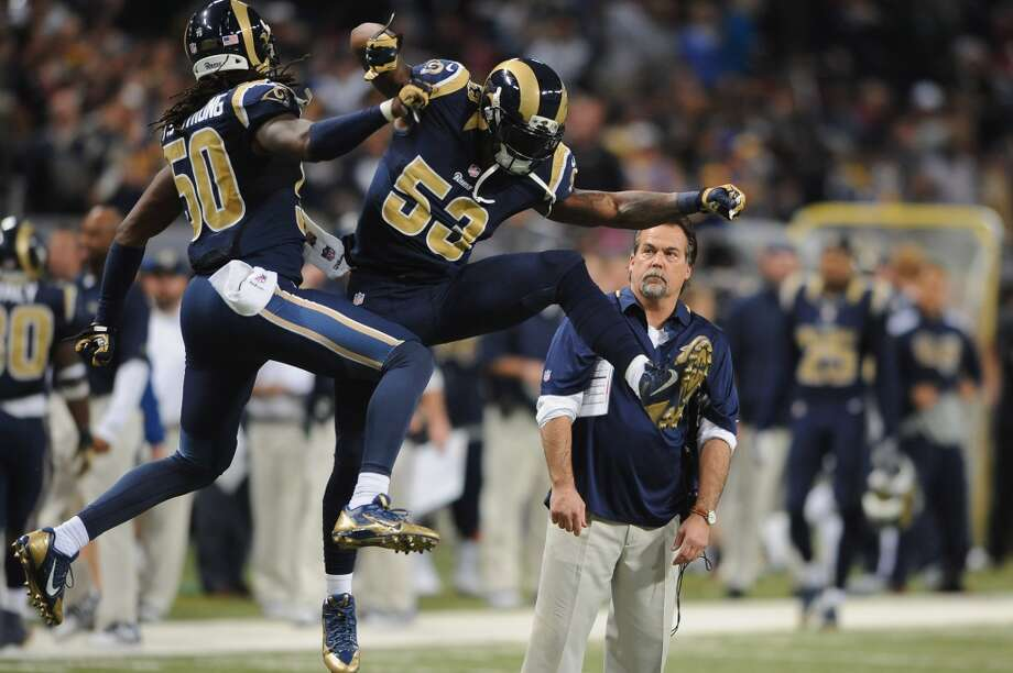 Tampa Bay (4-10) plus - 5 ½ at St. Louis (6-8): Rams 21-17 Photo: Michael Thomas, Getty Images