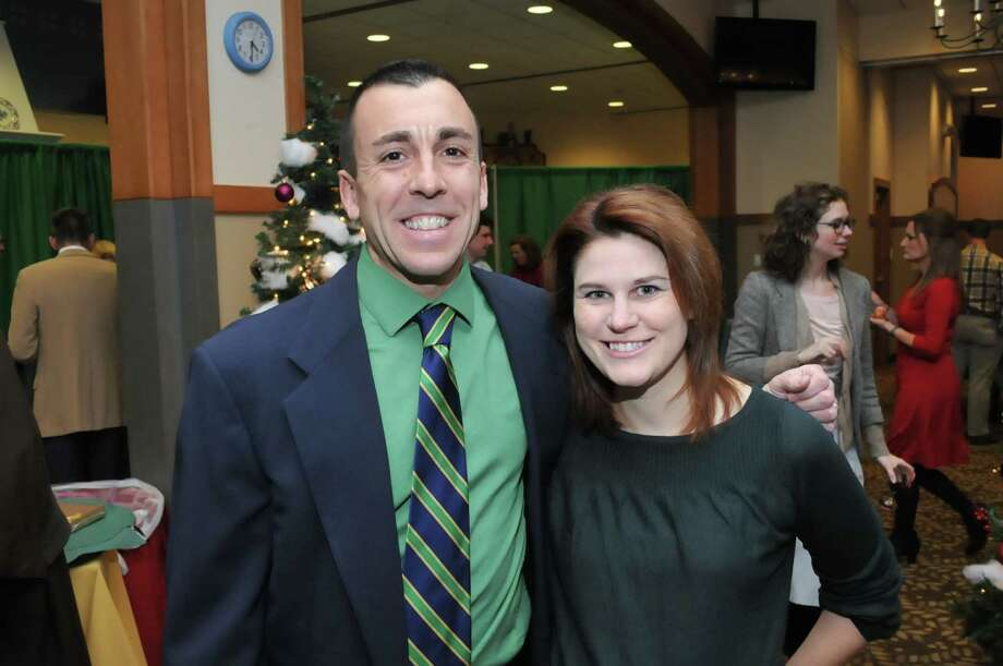 Were you Seen at Father Kevin Mullen's Annual Christmas Party at Siena College in Loudonville on Thursday, Dec. 19, 2013? Photo: Sergio Sericolo