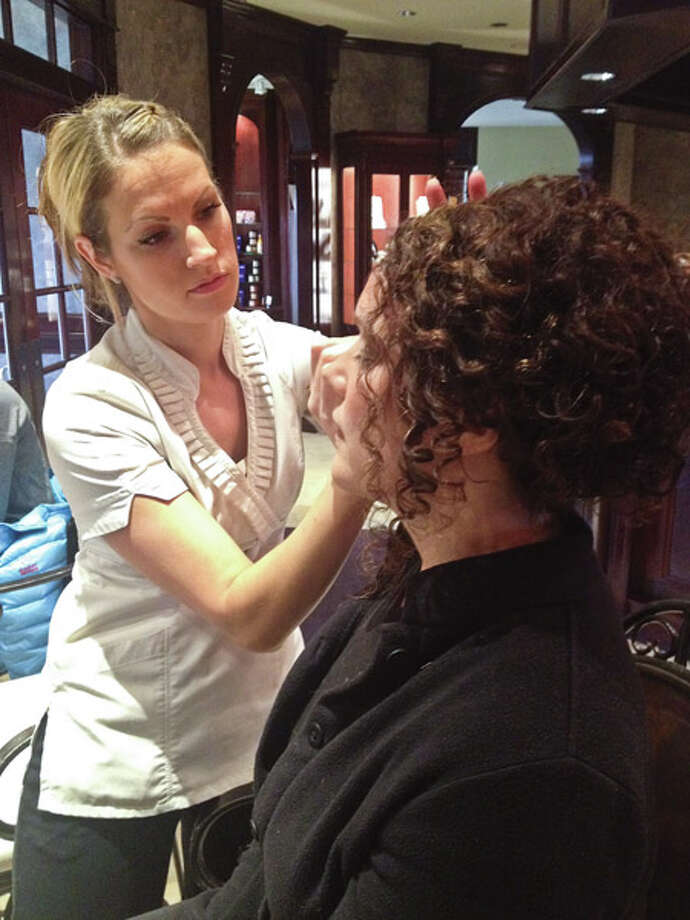 Hair and makeup by Kimberley's A Day Spa, LLC Photo: Photo: © Brianna Snyder/HealthyLife