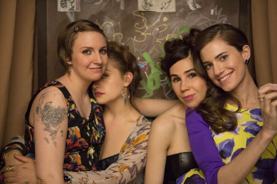 GIRLS: The Brooklyn hipsters return for another season of self-loathing and ridiculous fashion. HBO, Sunday, Jan. 12