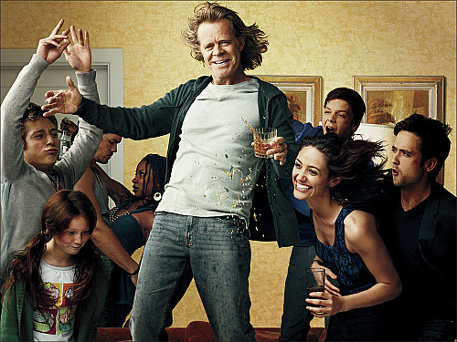 SHAMELESS: This dark, grungy dramedy featuring the unlucky Gallagher family returns for its fourth season. Showtime, Jan. 12 Photo: Courtesy Of SHOWTIME/©Showtime / ©Showtime 2010